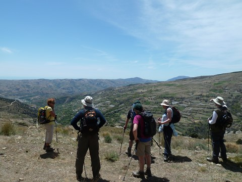 alpujarras walking andalucia spain